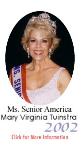 Click for More Information - Ms. Senior America 2002, Mary Virginia Tuinstra