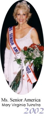 Ms. Senior America 2002, Mary Virginia Tuinstra